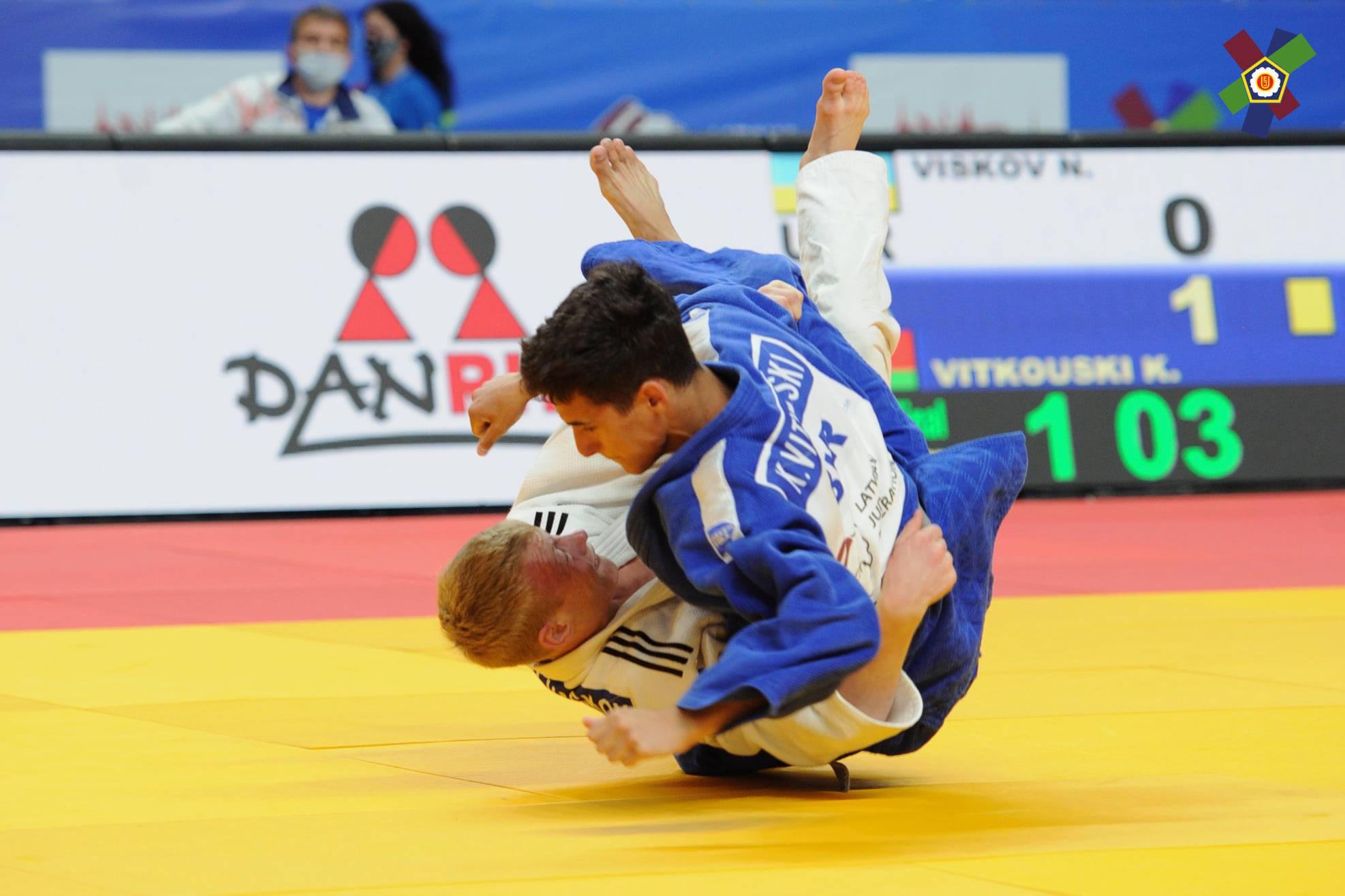 Харьковский дзюдоист стал призером чемпионата Европы (фото, видео)
