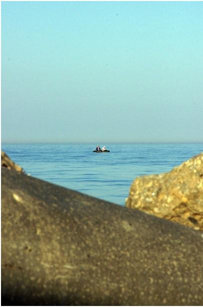 Лодка в Азовском море