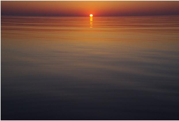 Вечер на Азовском море