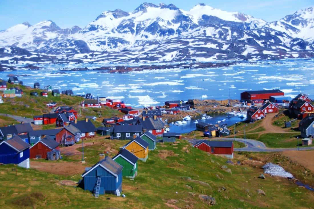 Летняя жара привела к массивному таянью льдов в Гренландии
