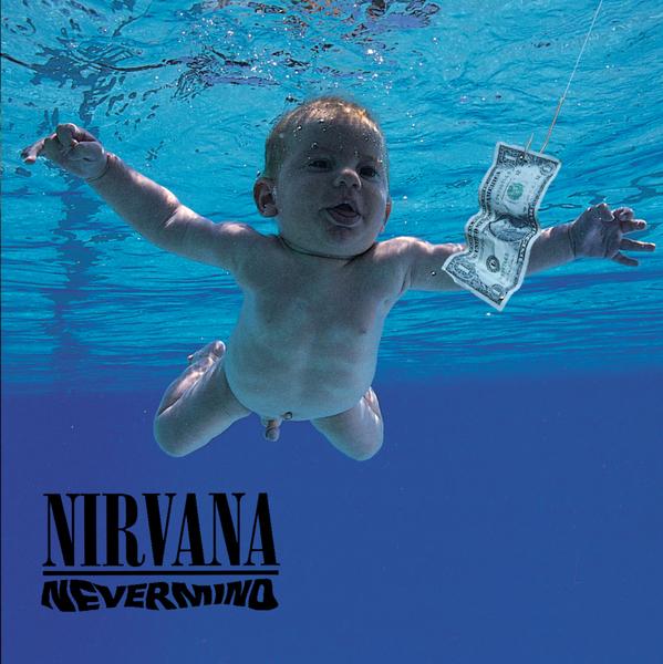 По $150 тыс. с каждого – голый младенец с обложки альбома Nirvana вырос и требует сатисфакции