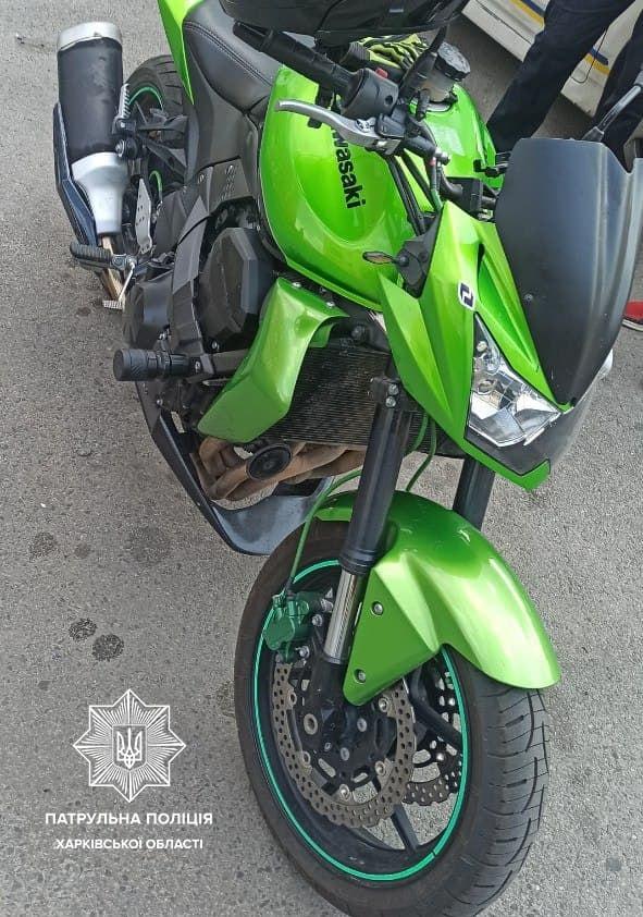 В Харькове нашли мотоциклы, угнанные в Италии (фото)