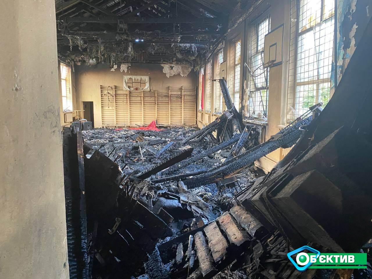 Пожар в чугуевской школе расследуют по статье о нарушении правил пожарной безопасности
