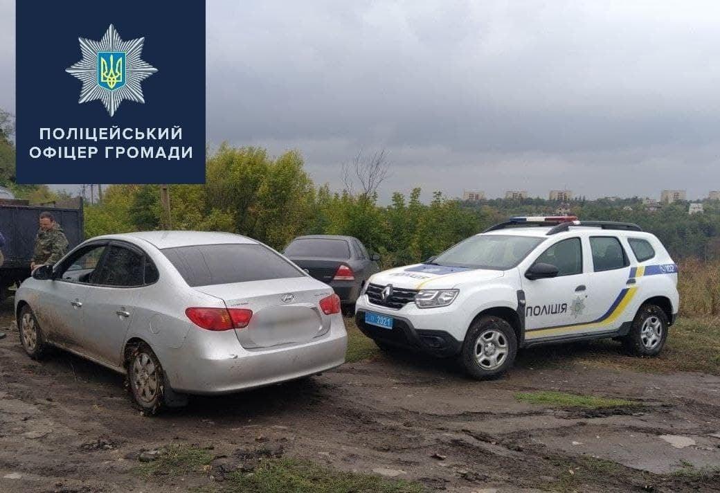 На Харьковщине полицейский помог автолюбителю (фото)