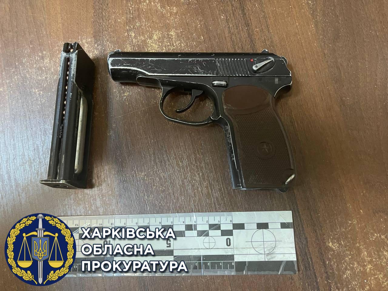 В Харькове водитель выстрелил в прохожего – злоумышленник найден (фото)