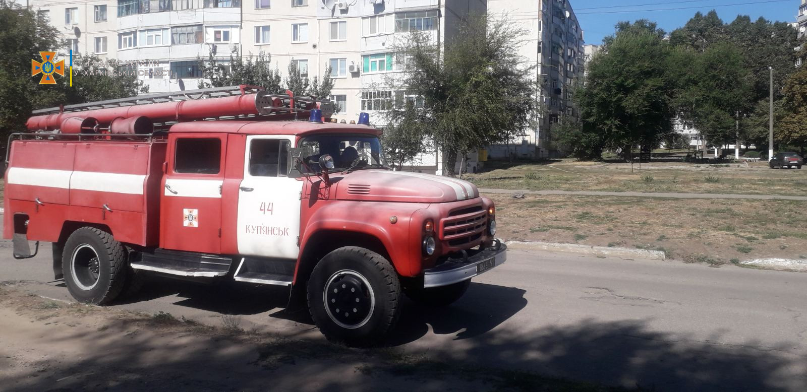 На Харьковщине двухлетний малыш оказался взаперти один дома (фото)