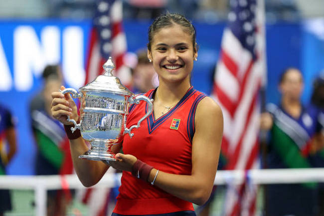 """Сенсация """"Большого шлема"""": выиграла 18-летняя теннисистка, 150-я в рейтинге"""