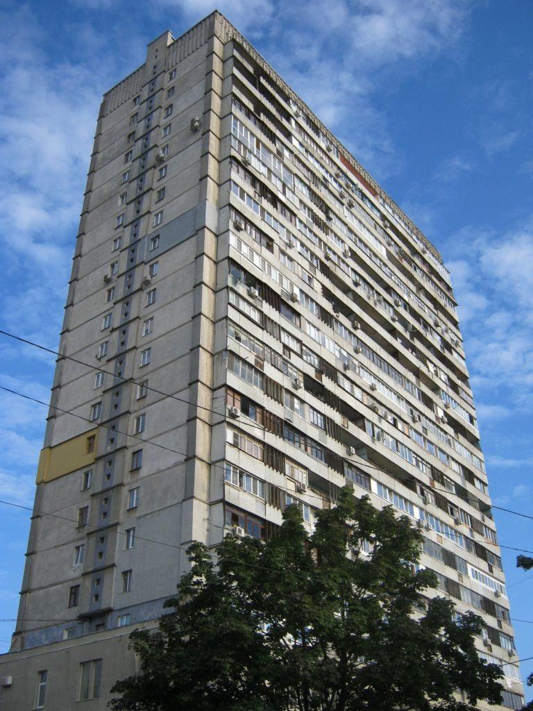 Советская 24-этажка в Харькове