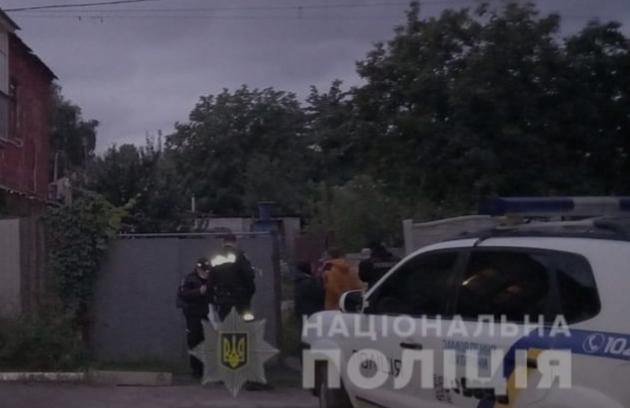 В Харькове рецидивист избил копа