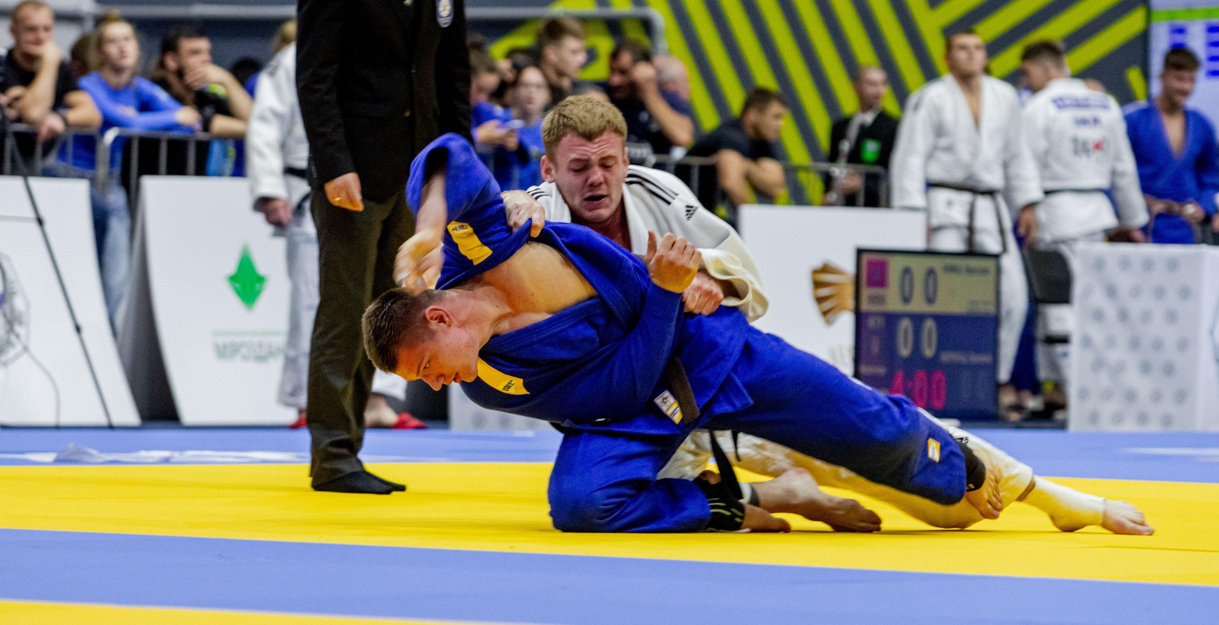 Харьковчанин выиграл чемпионат Украины по дзюдо (фото)