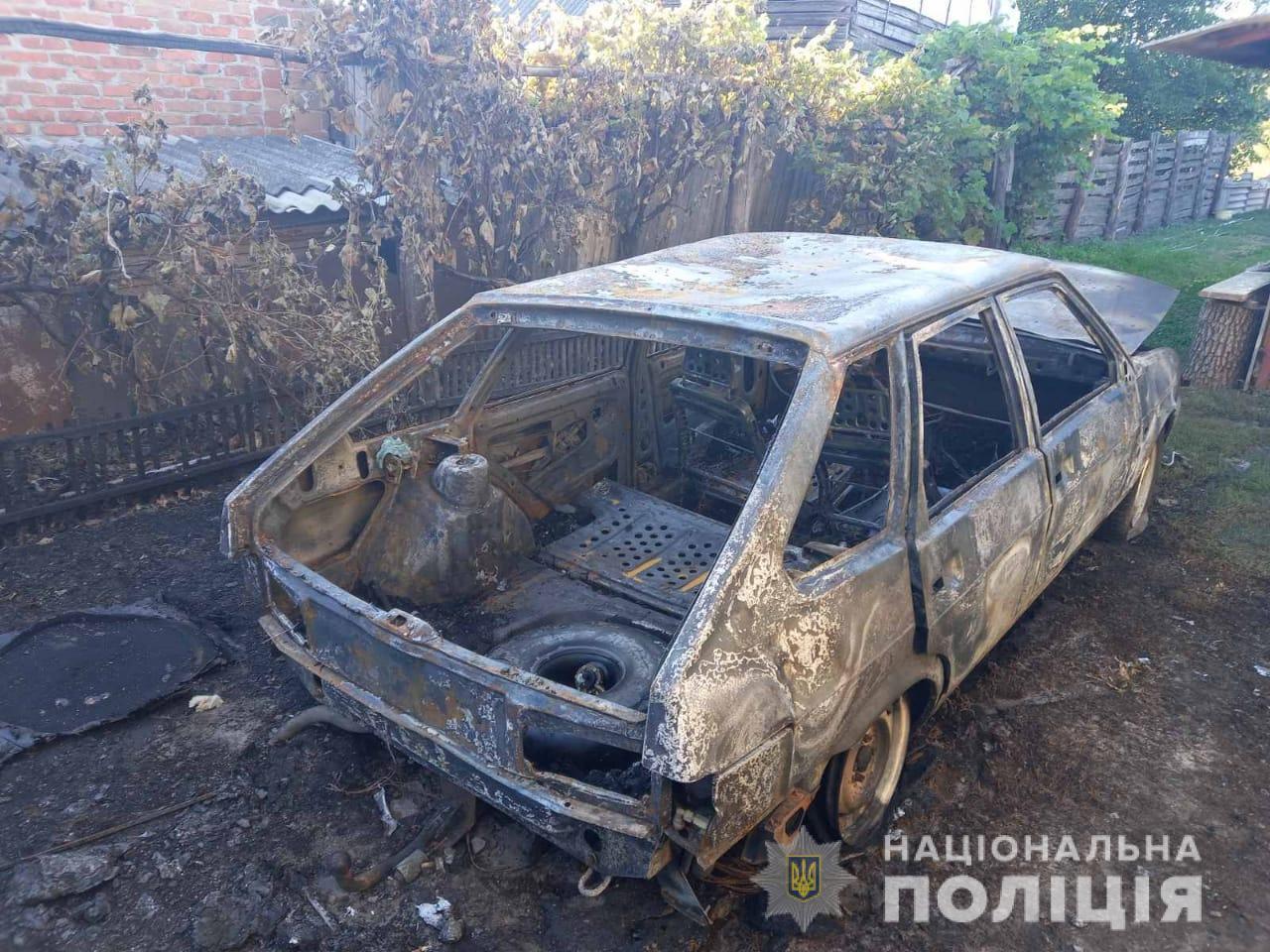 В Харьковской области родственники не поделили машину