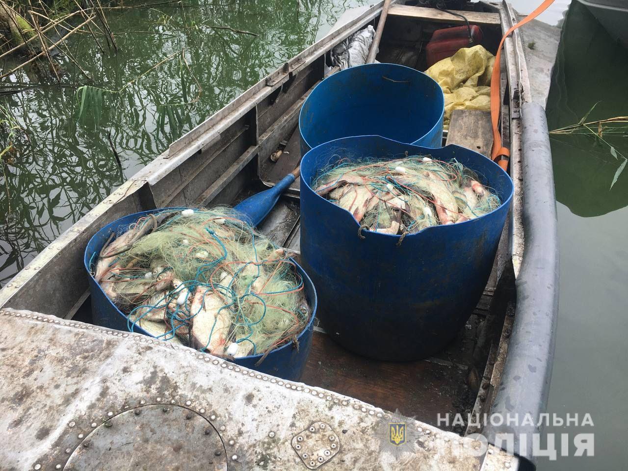 На Харьковщине на браконьера, который выловил сетями 77 кг рыбы, завели уголовное дело - фото 1