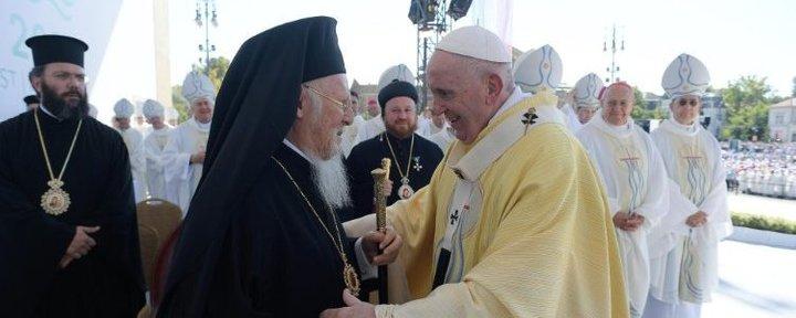 Папа Римский встретился со Вселенским патриархом Варфоломеем
