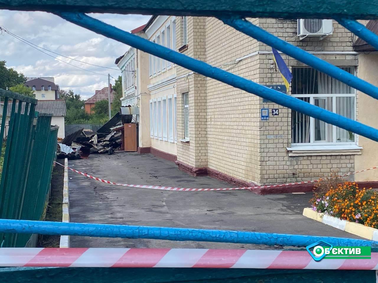 Во время пожара в чугуевской школе №2 никто не пострадал