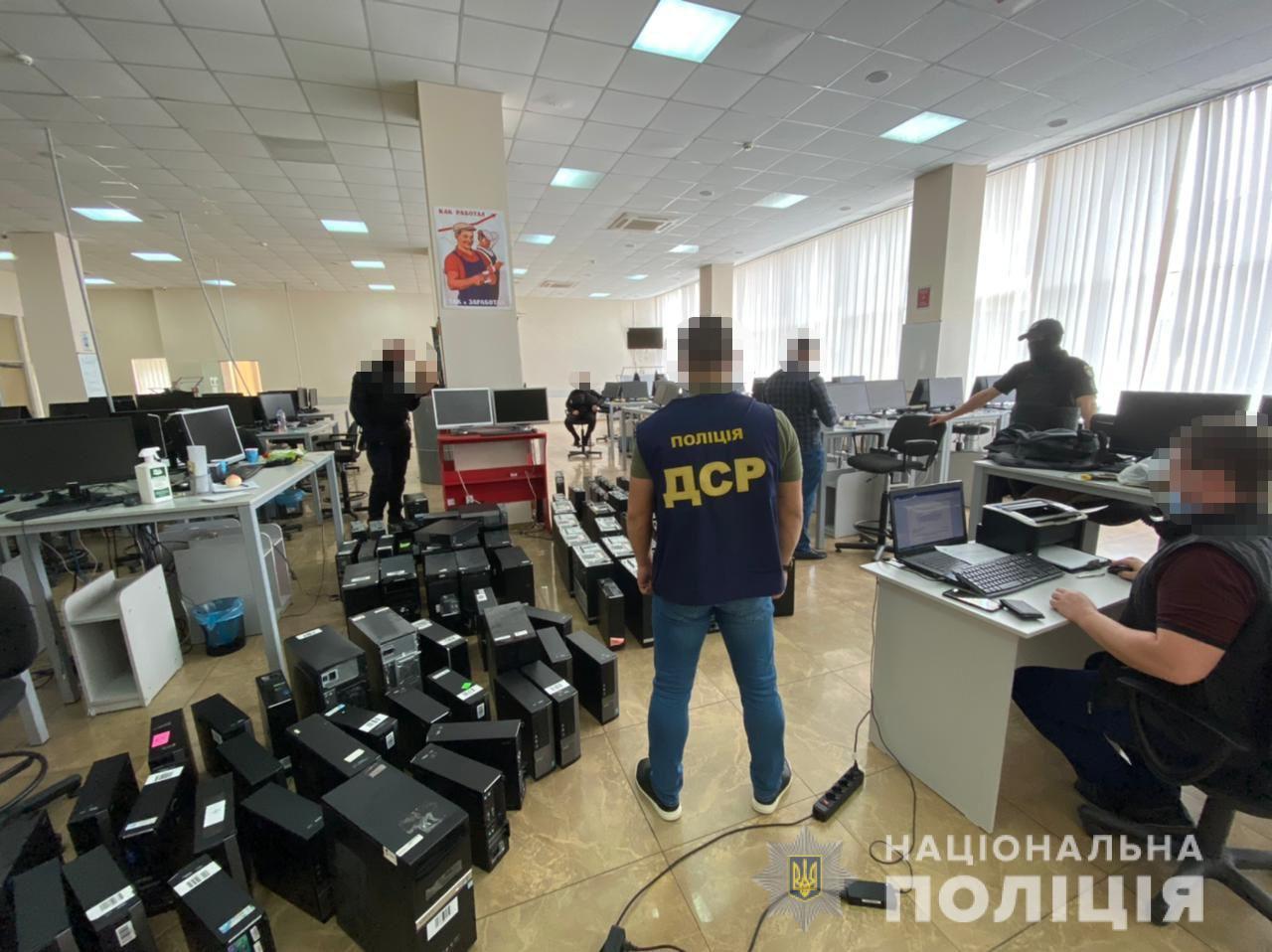 В Харькове мошеннические call-центры ежемесячно зарабатывали более миллиона (фото)
