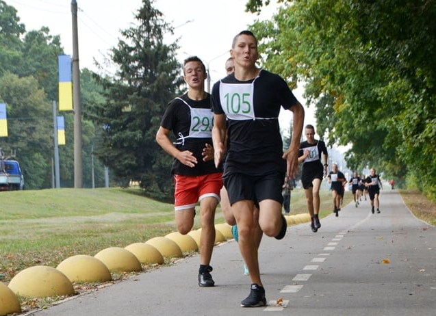 Всеукраинский патриотический забег состоялся в Харькове