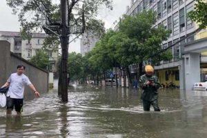 """Тайфун """"Чанту"""" обрушился на Китай"""