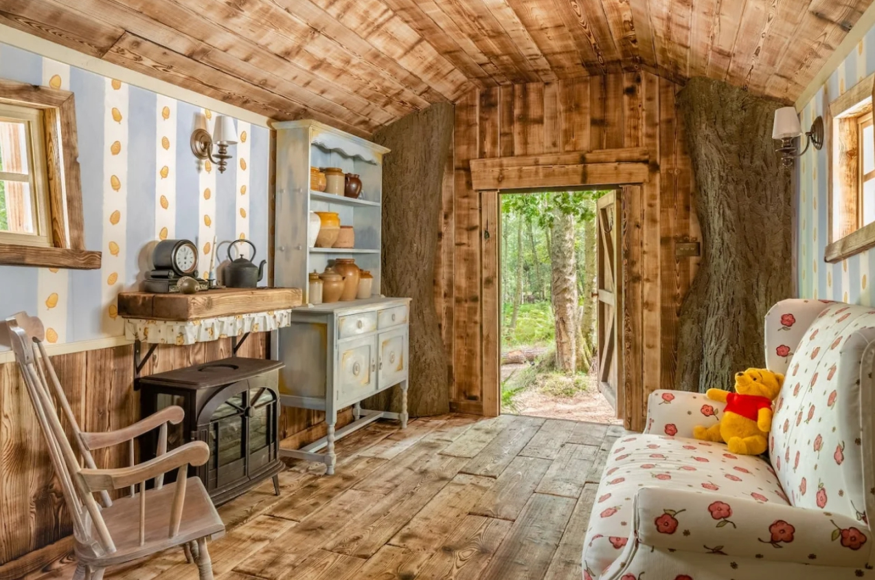 Домик Винни-Пуха в Эшдаунском лесу