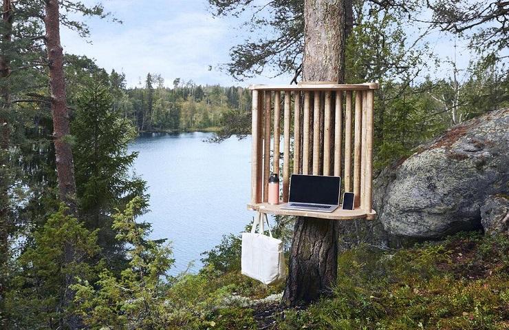 В финском городе Лахти оборудуют станции для удаленной работы на природе