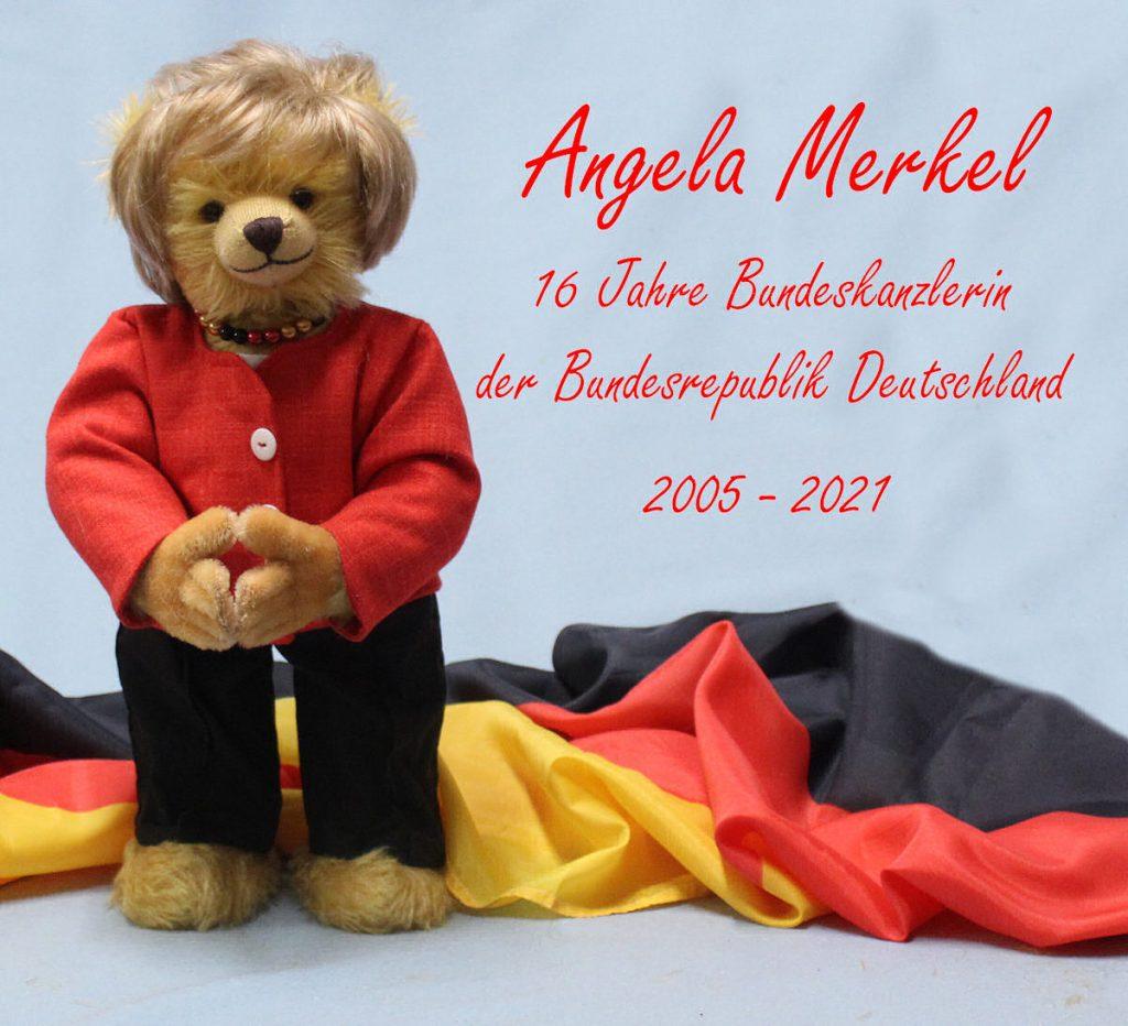 В Германии появился именной медведь Ангелы Меркель (фото)