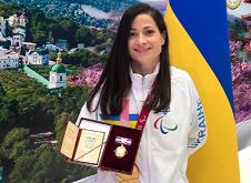 Золотую медалистку Паралимпады из Харькова наградили орденом княгини Ольги