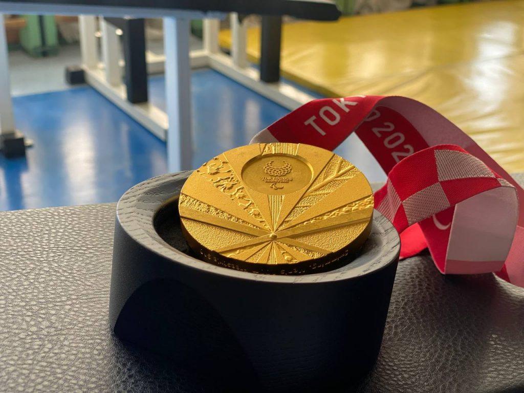 Золотая медаль паралимпиады