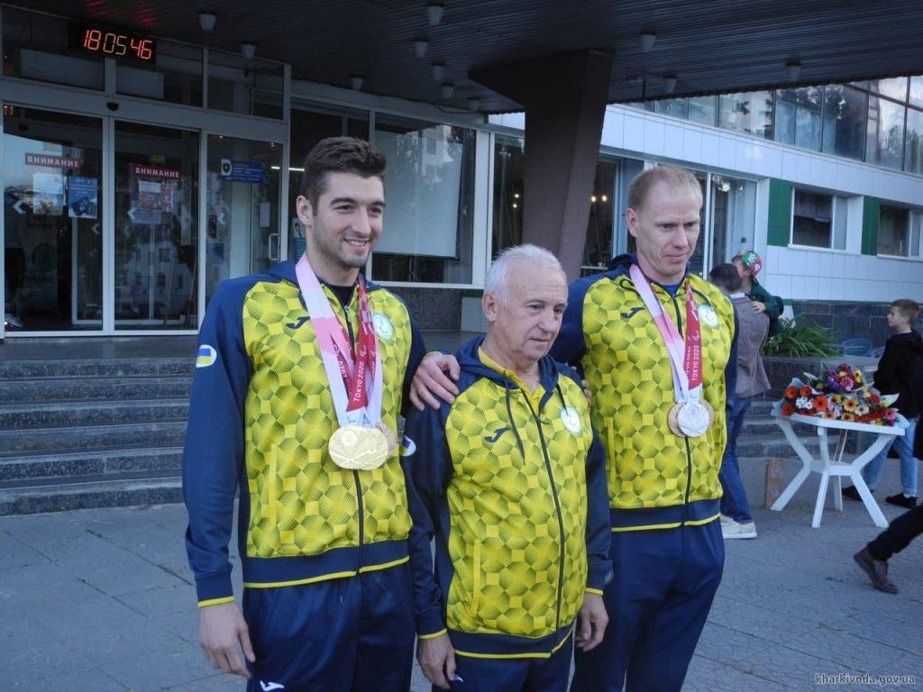 Встреча паралимпийцев в Харькове