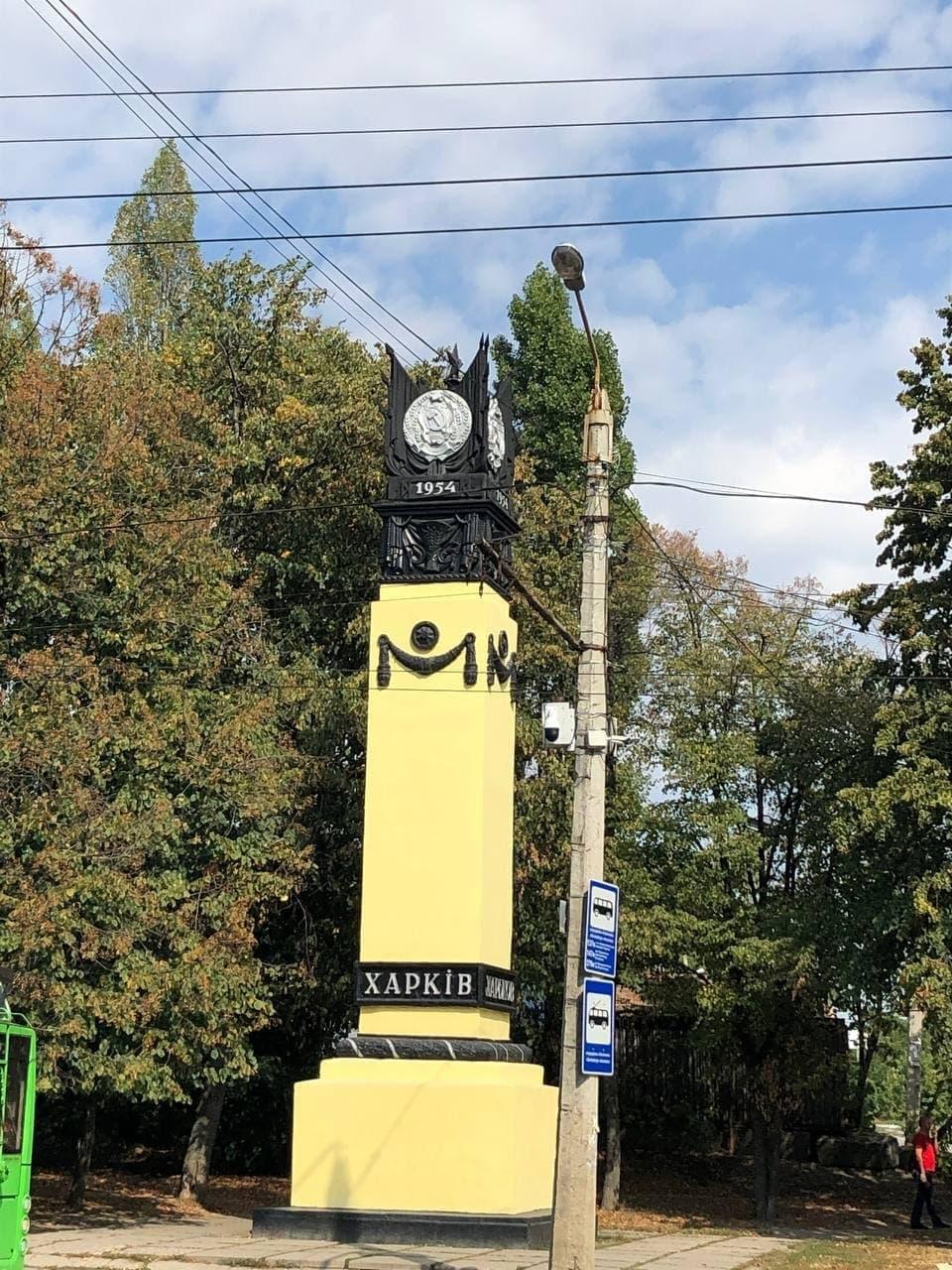 Харьковские общественники угрожают снести серпы и молоты на Московском проспекте (фото)