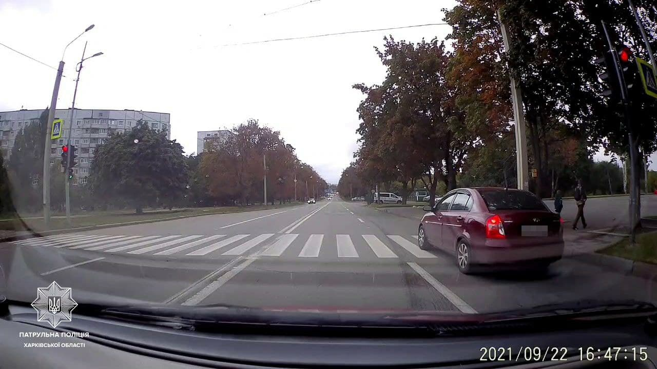 В Харькове патрульные по видео из сети нашли двух нарушителей ПДД (фото)
