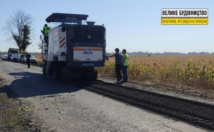 Дорожники приступили к работам на автомобильной дороге Зачепиловка-Андреевка-Кегичевка-Староверовка