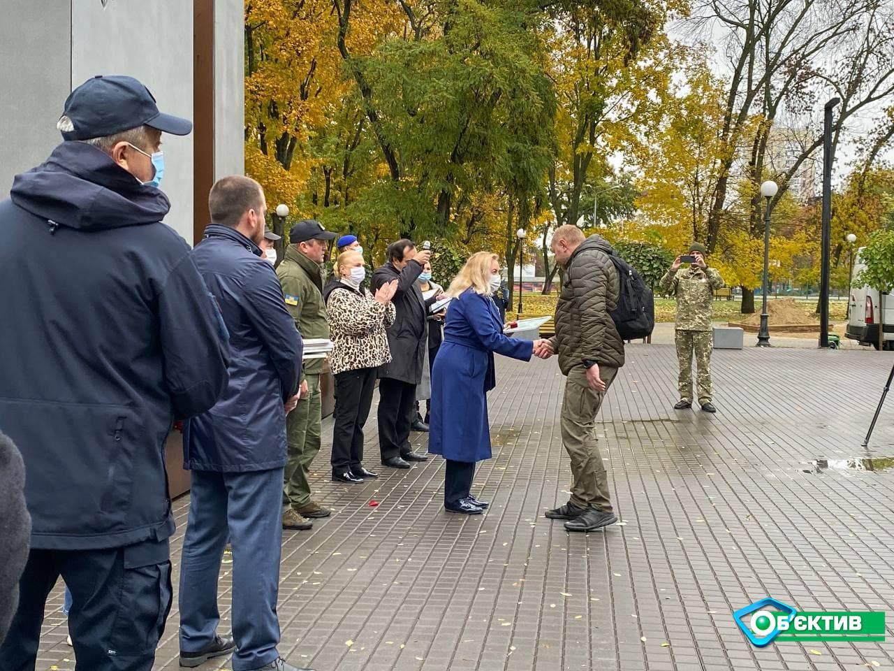В Харькове отмечают День защитников и защитниц Украины