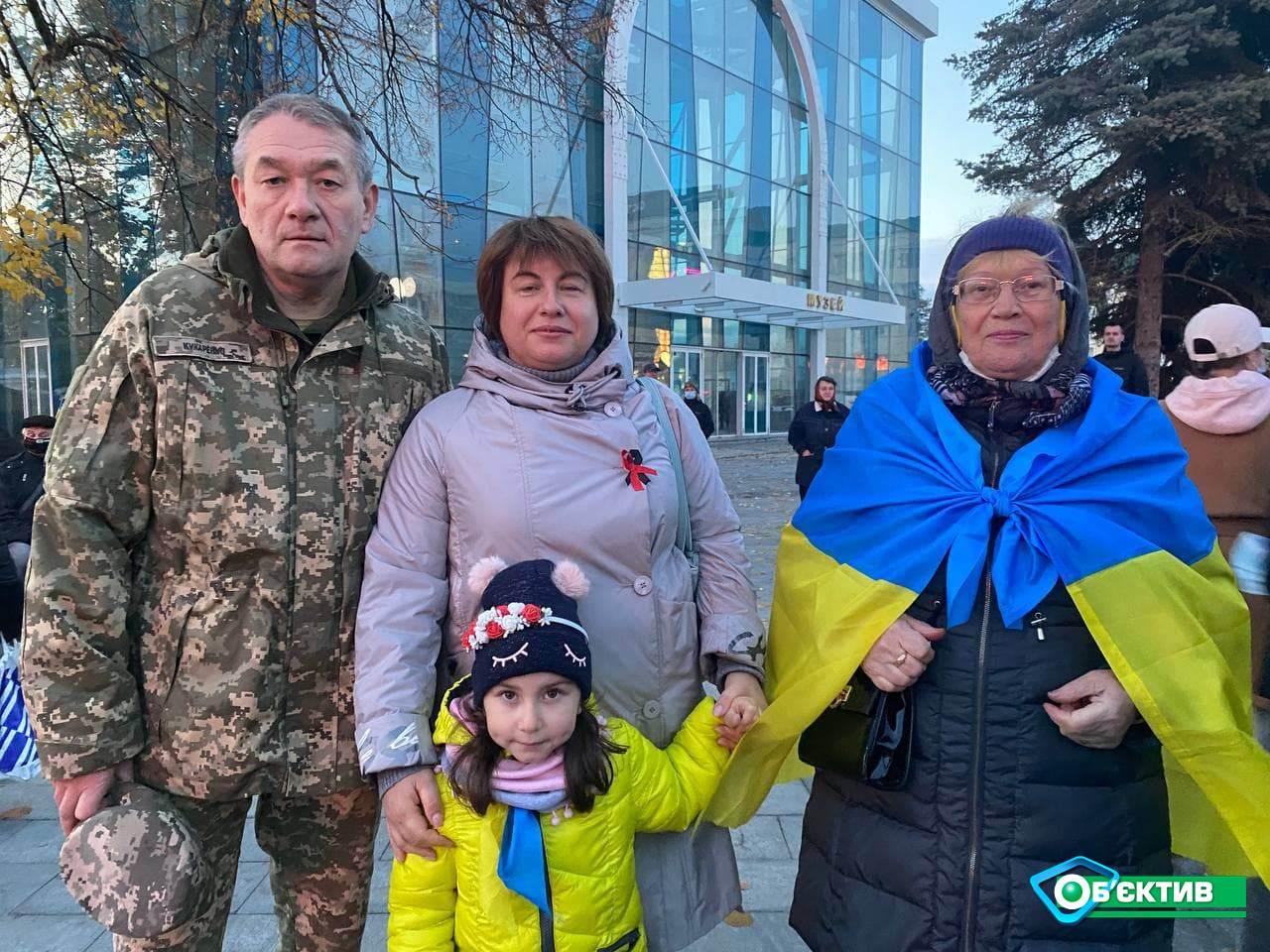 У центрі Харкова пройшов марш захисників України