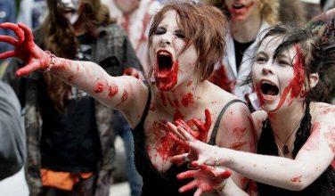 На выходных в центре Харькова пройдет массовое шествие зомби