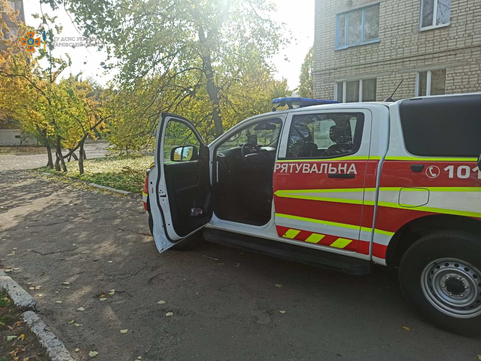 В Харьковской области пенсионерка не могла открыть дверь квартиры медикам (фото)
