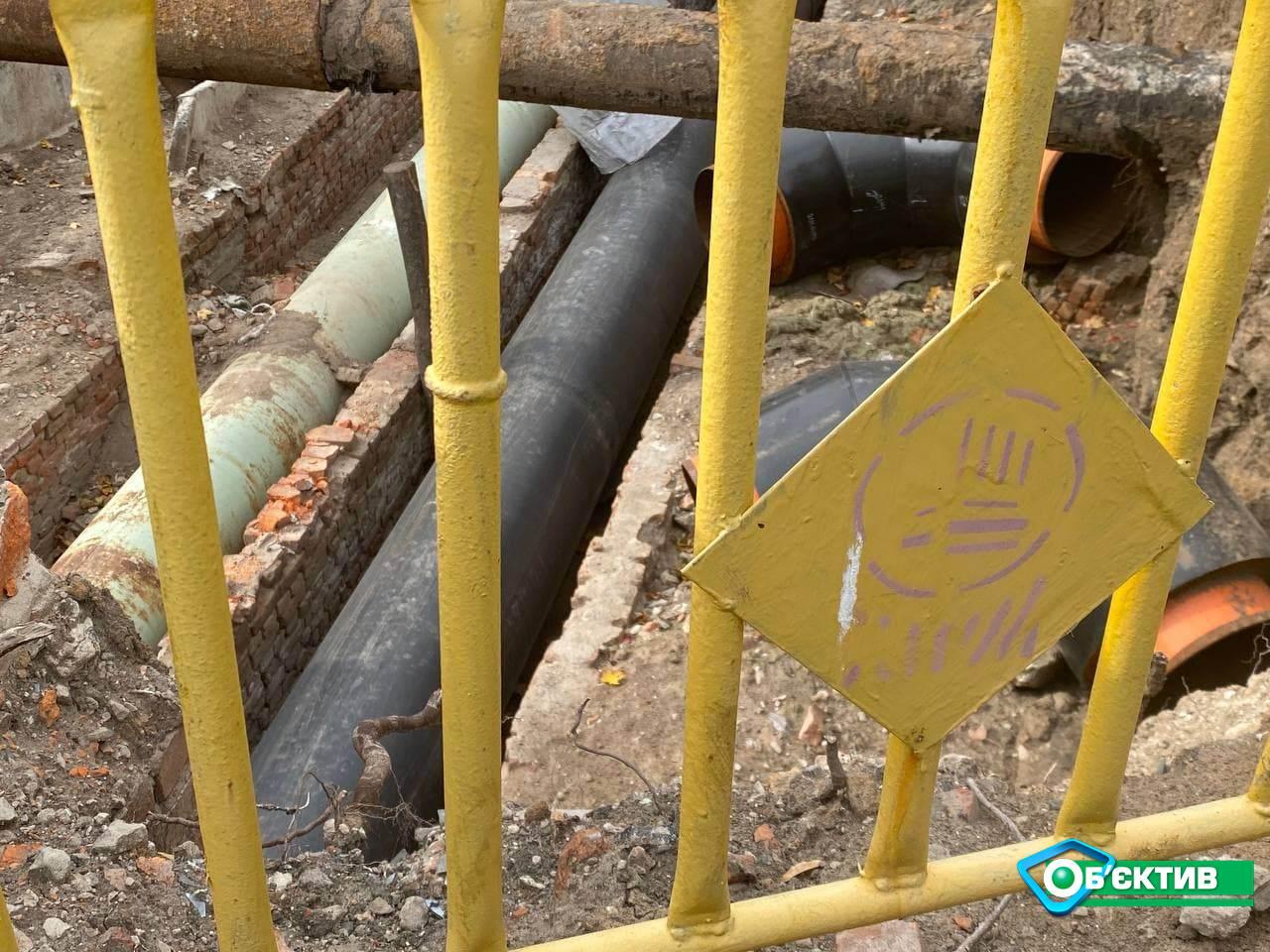 Заканчивается капитальный ремонт тепломагистрали возле «ТЕЦ-3» по ул. Енергетической