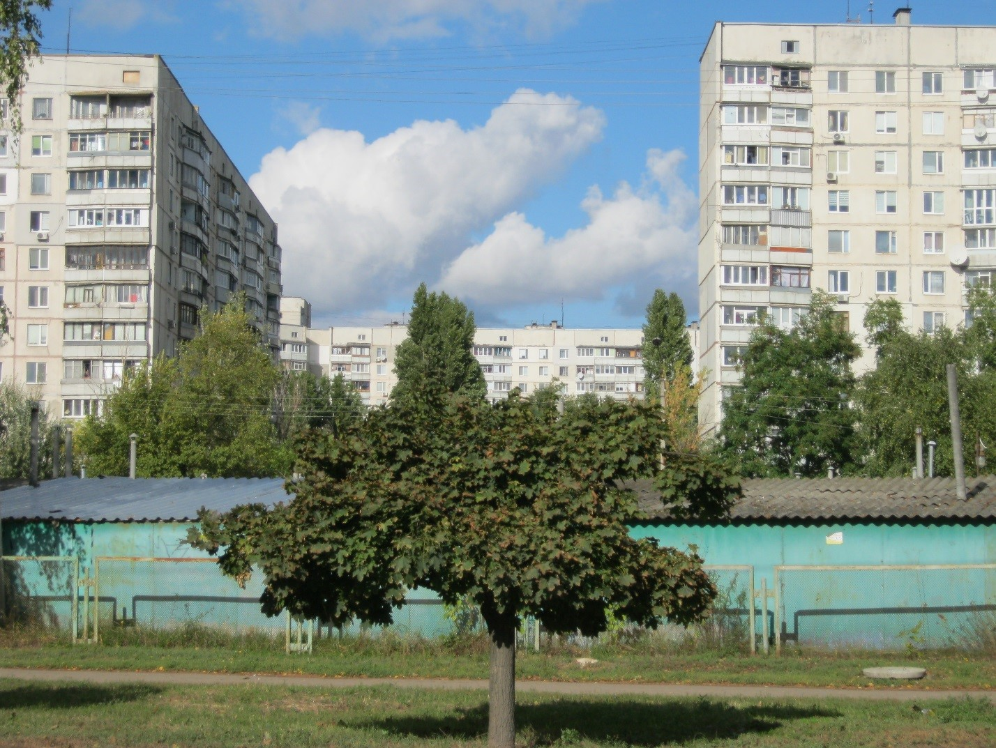 Улица Валентиновская в Харькове