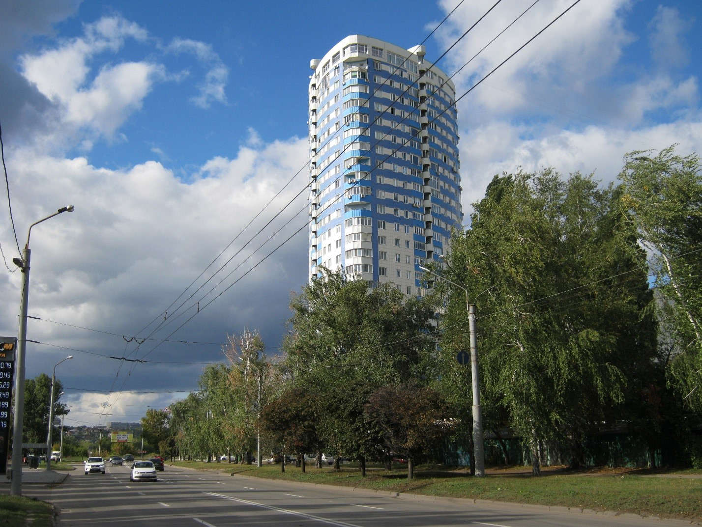 Высотка в Харькове