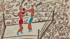 На аукционе в Нью-Йорке за миллион долларов продали 26 картин Мохаммеда Али (фото)