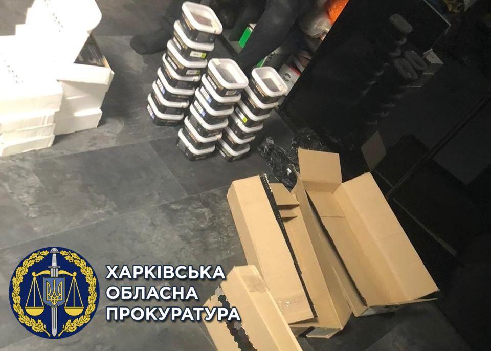 В Харькове силовики изъяли поддельный табак для кальяна стоимостью 2 млн грн (фото)