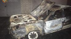 Спасатели потушили горевший в Киевском районе автомобиль