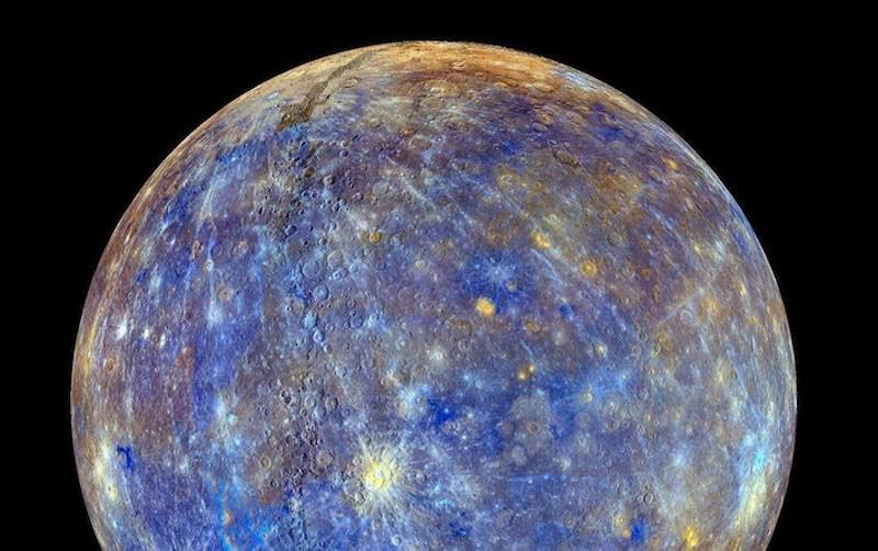 Космический аппарат BepiColombo впервые сфотографировал поверхность Меркурия (фото)