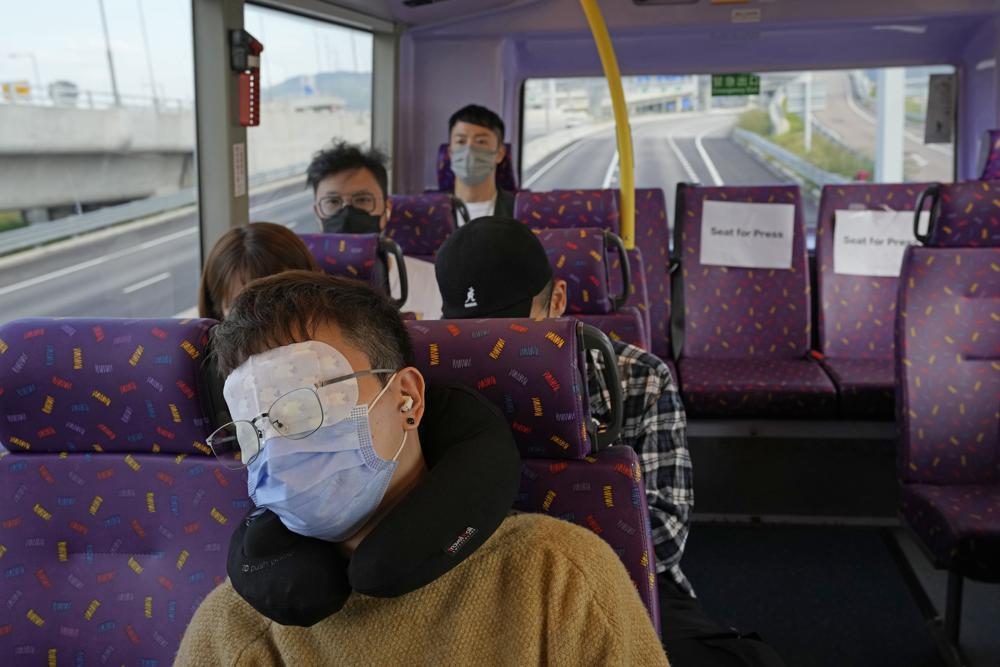 В Гонконге теперь можно поспать в автобусе