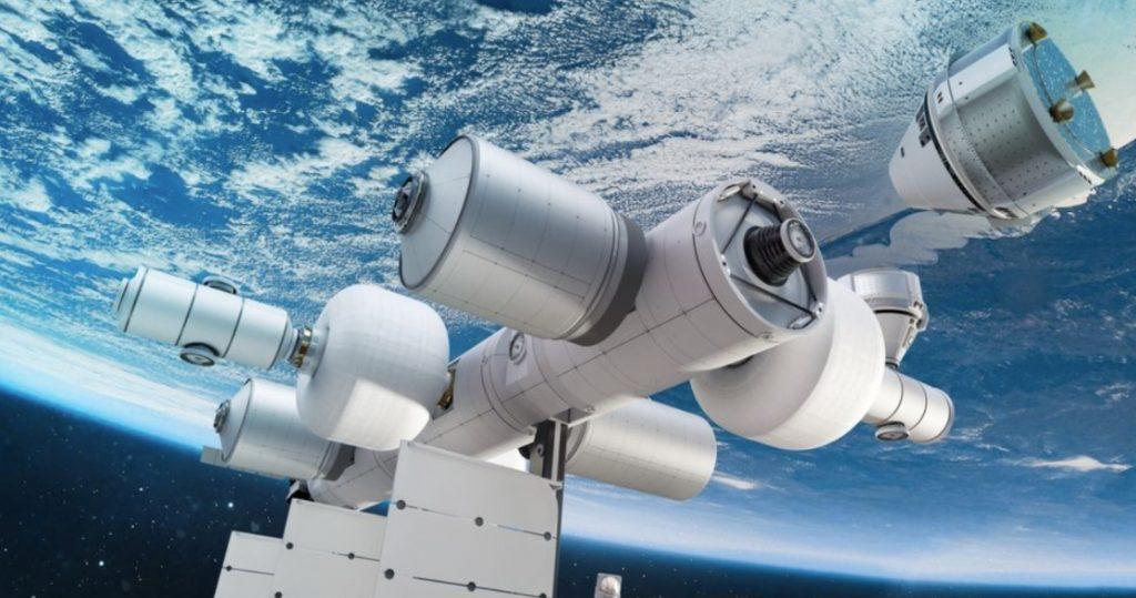 Blue Origin разработала проект своей космической станции (фото)